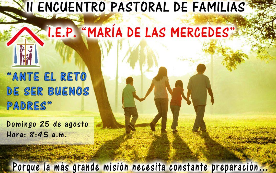 II Encuentro Pastoral de Familias