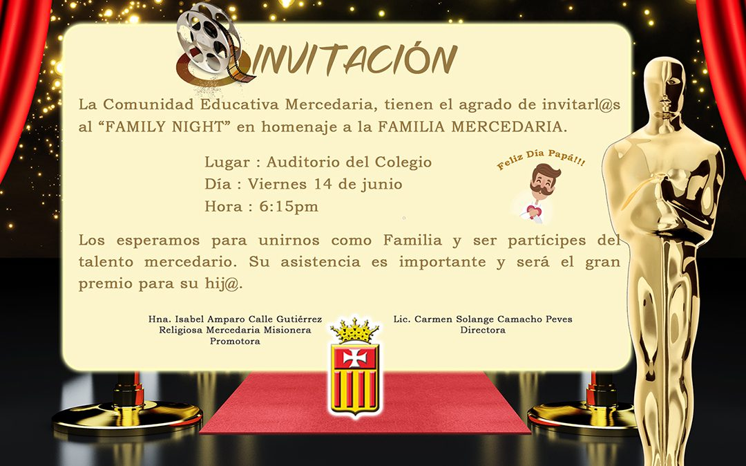 Invitación: Family Night