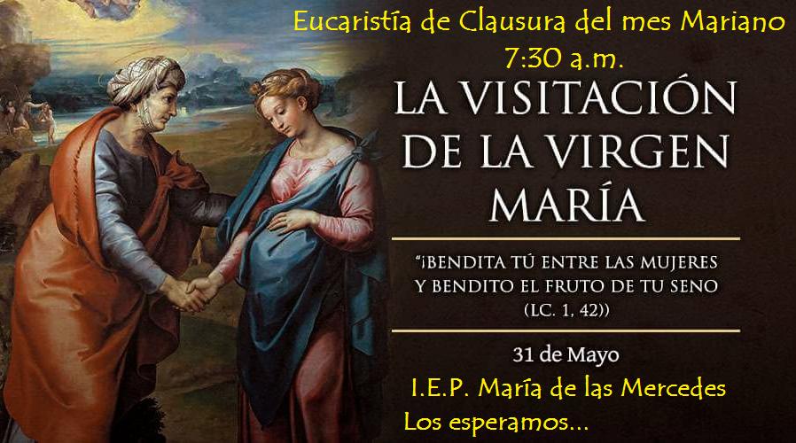 Eucaristía de Clausura del Mes Mariano