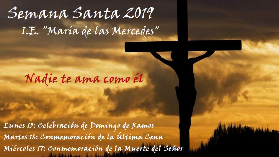 Semana Santa María de las Mercedes 2019